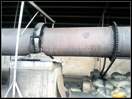 light weight expanded clay aggregate rotary kiln by