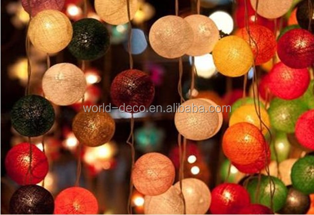 Decorative Light Balls Prepossessing Cotton Ball Light Chain  Cotton Ball String Lights View Cotton 2018