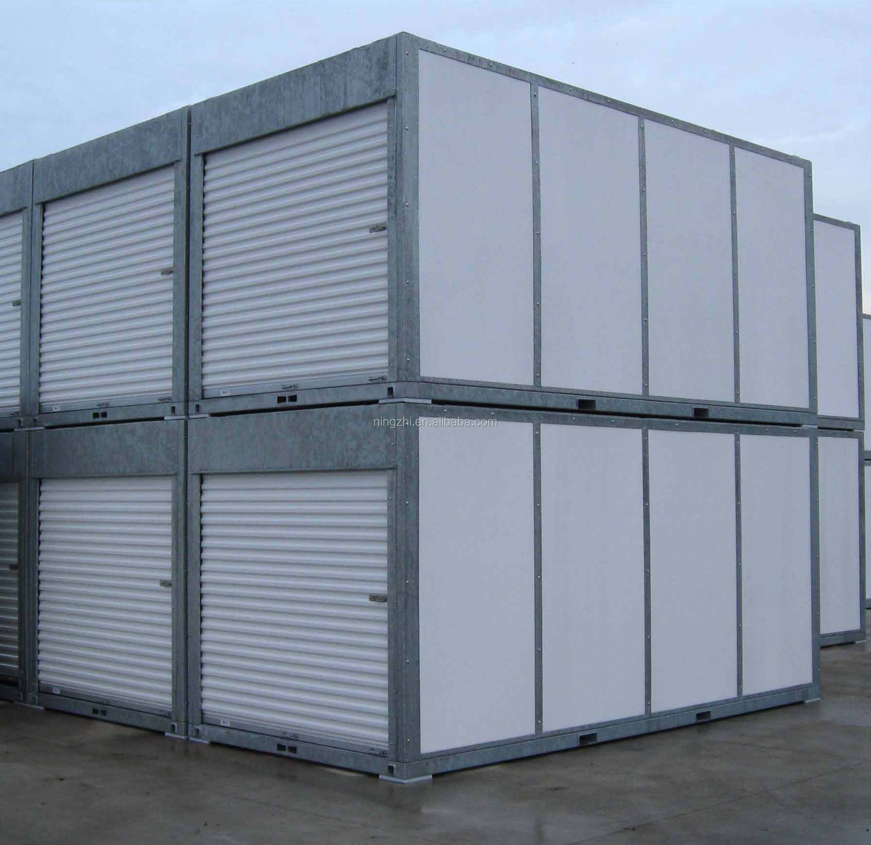 Portable Steel Storage Units : Prefab mobile steel storage container portable