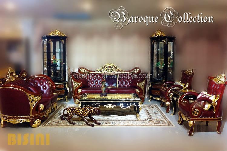 Bisini Baroque Collection Luxury Gilded Bedroom Furniture