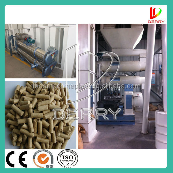 Electric Animal feed powder pellet machine with high efficient