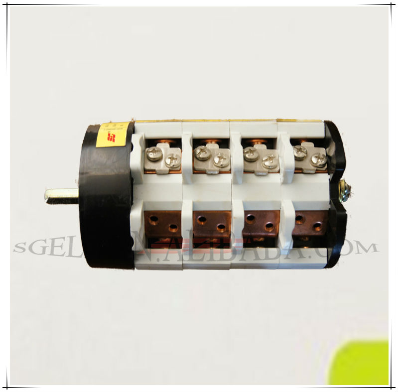W31 ROTARY SWITCH with face plate face PANEL 10A 3POLE manual changeover switch 7 POSITION