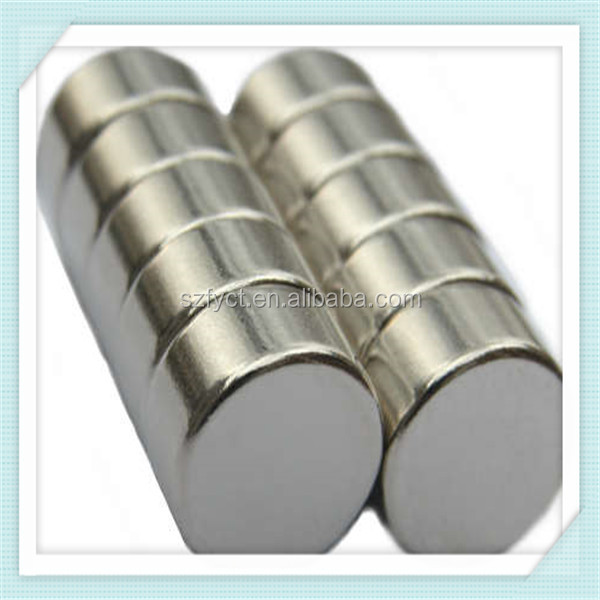 N52 Neodymium Magnet with Diameter 25.4 mm Disc Shape