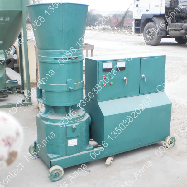 Flat Die Animal Poultry Feed Machine