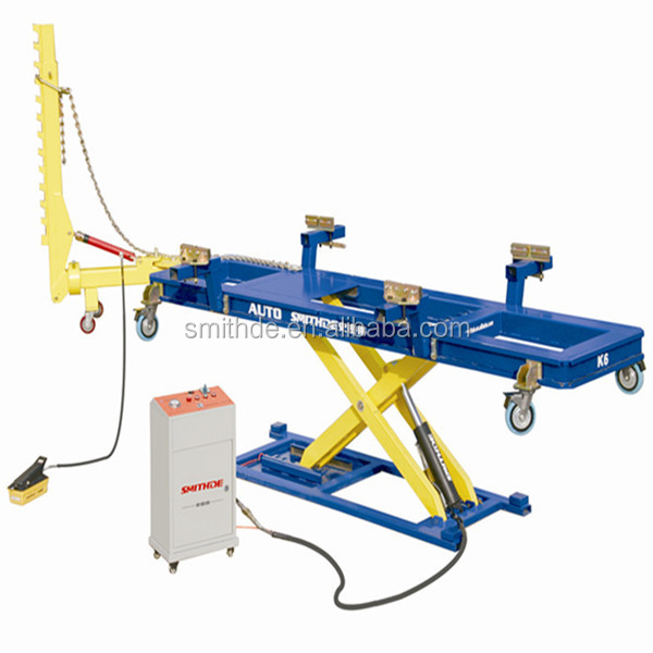 Pl 3 Hydraulic Post Puller : K auto car frame repair bench machines pulling