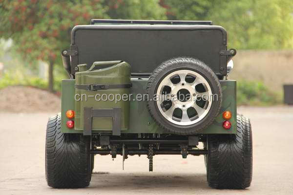 150cc Mini Jeep Willys with Racing Tire,Alloy Rim