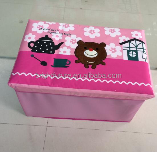 kids foldable storage box