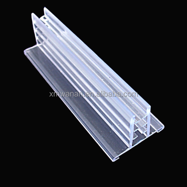 Supermarket Promotional Display Clear Pvc Ticket Sign