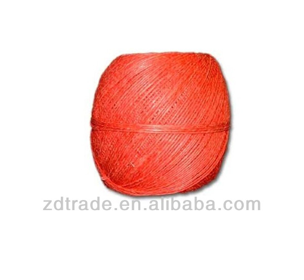 Orange Polished Hemp Twine 100g Ball