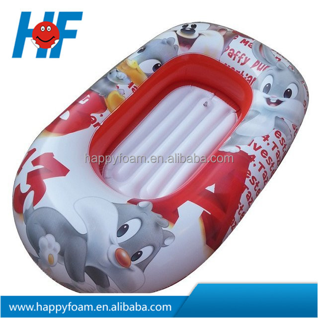 PVC inflatable boat, toy boat