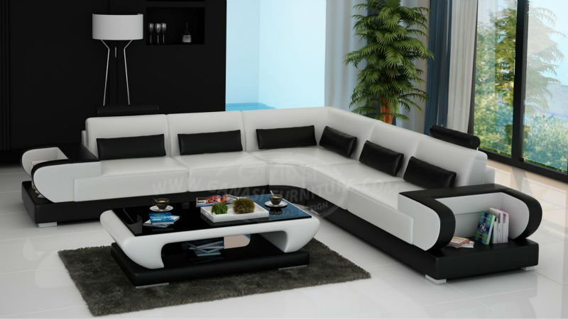 New Sofa Styles GANASI Leather Couch Italian Furniture View - New sofa