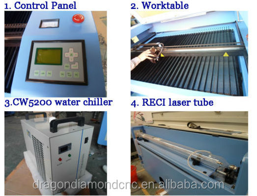 Laser Engraving Cutting Router with high speed LZ-1390 co2 Laser Cutter Engraver for sale