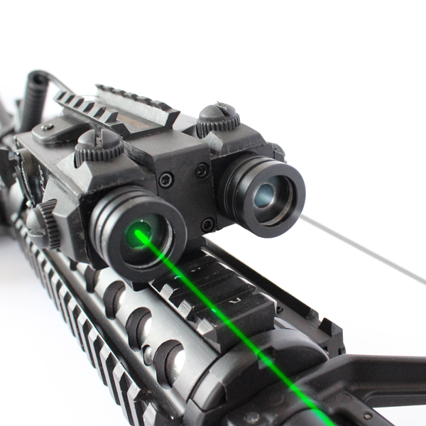 Military Tactical Rifle Picatinny Rail Dual Aiming Laser Combo Sight