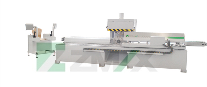Automatic Single Side Sawing Machine Reciprocating Cutting MJ4030 Woodworking Saw