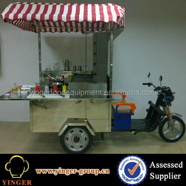 Factory price stainless steel mini truck food