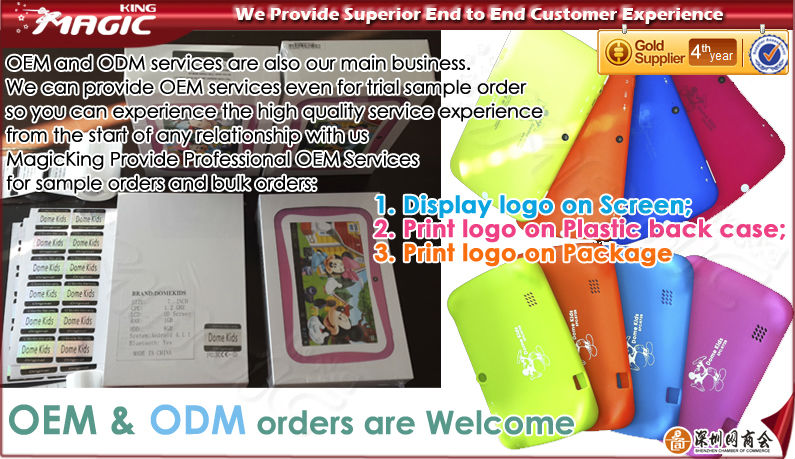 "7"" IPS screen 1024*600 android tablet kids"