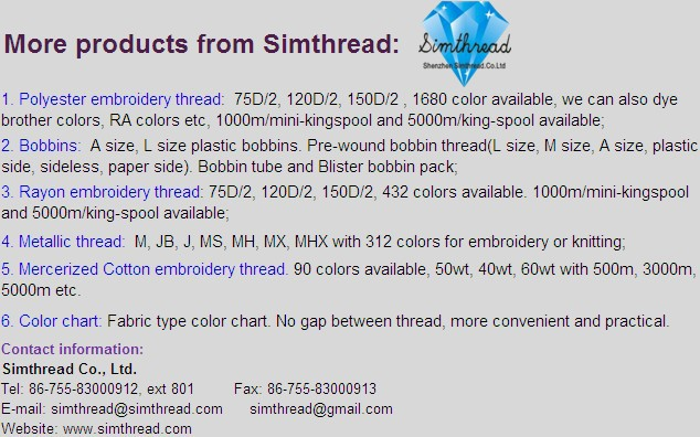 Service of customizing high quality sewing/embroidery thread color chart thread color card, color book