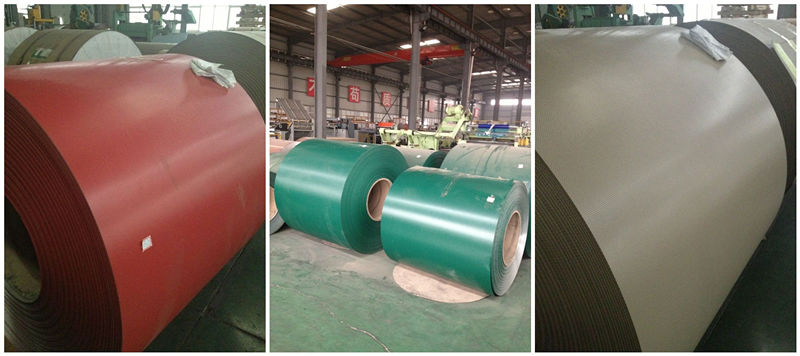 Color Prepainted Aluminum Coated Coil