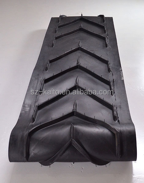 Wirtgen Asphalt Milling Machine Rubber Conveyor Belt