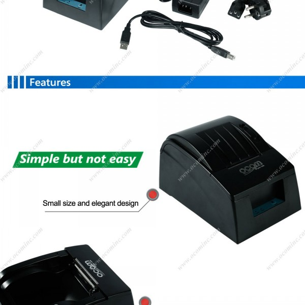 58mm High Speed Pos Thermal Receipt Printer