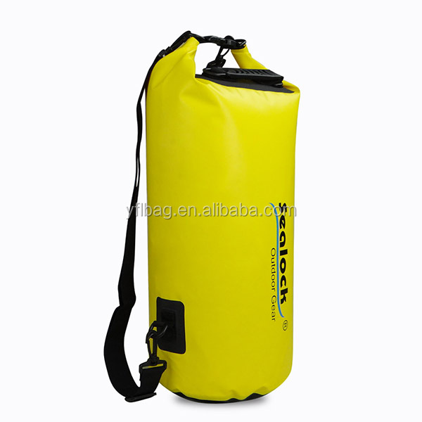 30L two shoulder strap durable waterproof dry bag