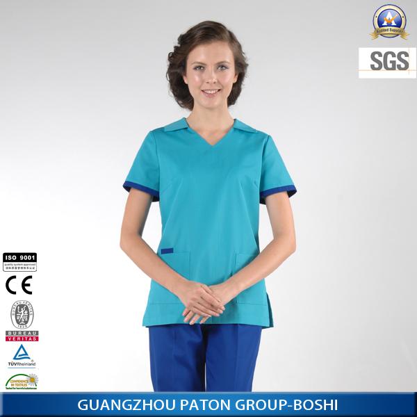 New design female spa uniform in 2014 buy spa uniform for Spa uniform alibaba