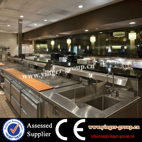 Five Star Hotel Kitchen Project\Commercial Kitchen outlet Project\restaurant kitchen design