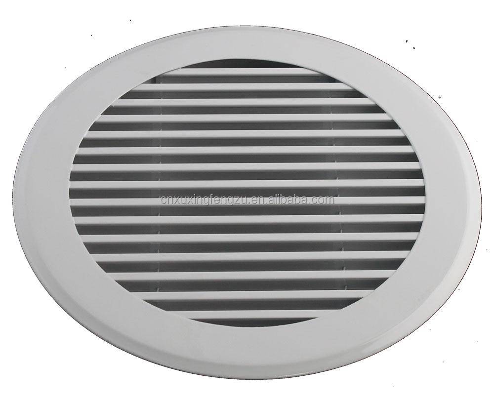 Custom Size Return Air Grille : Ventilation aluminum return air grille round buy