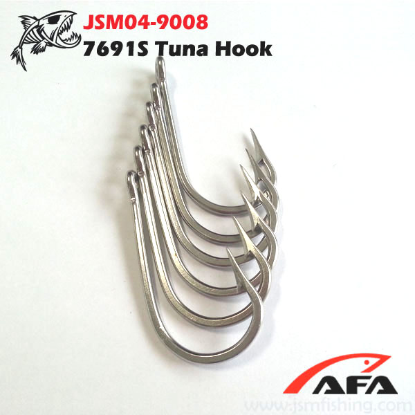 7691 stainless steel deep sea fishing hook wholesale