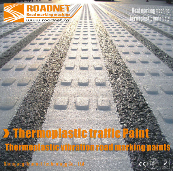 Reflective thermoplastic road marking paints, thermoplastic materials, hot melt road marking paint for traffic lines