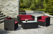 Luxury All Weather 100% Handmade Aluminum Rustproof Frame rattan furniture outdoor