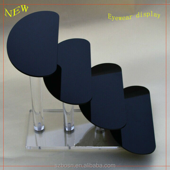 Modern Design Hot Sale Countertop Acrylic Glasses Display Stand with Glasses Dispaly Stand For Sale