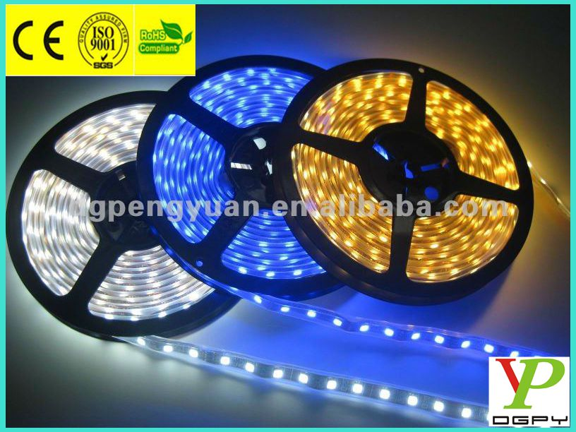 waterproof 60 leds 5050 RGB smd led strip light