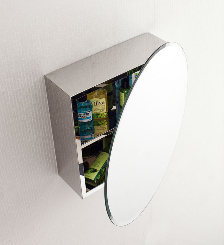 Morden Wall Mounted High Quality Illuminated Bathroom Led Mirror Cabinet 7082