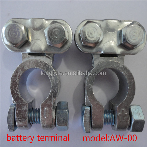 BATTERY TERMINAL CLAMPS POST TYPE CONNECTORS CAR CABLE FITTING & NEG