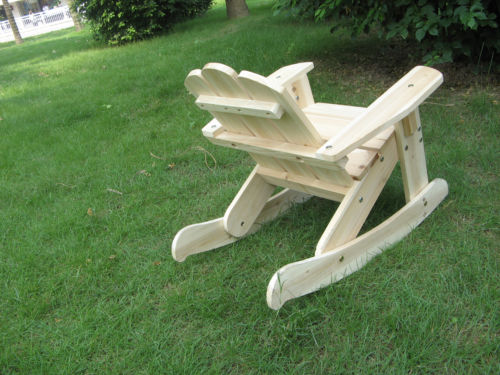 Kids Adirondack Rocking ChairsOutdoor Rocking Chair