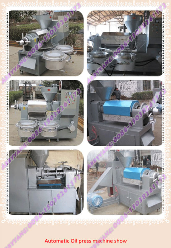 Automatic extracting olive oil machine