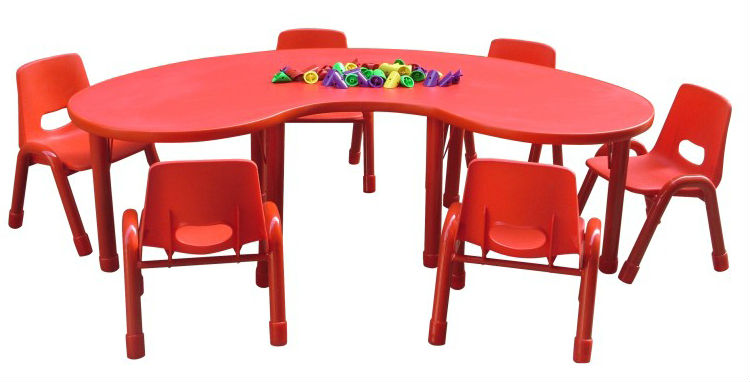 High Quality Rectangle Plastic Children Table And Chair ...