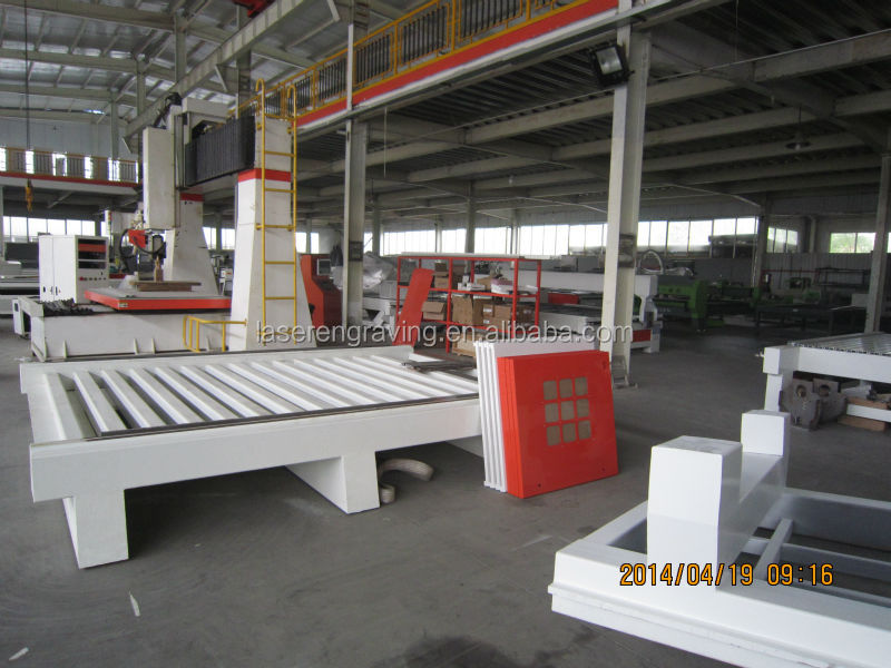machines used in furniture manufacturing 1300*2500mm working area