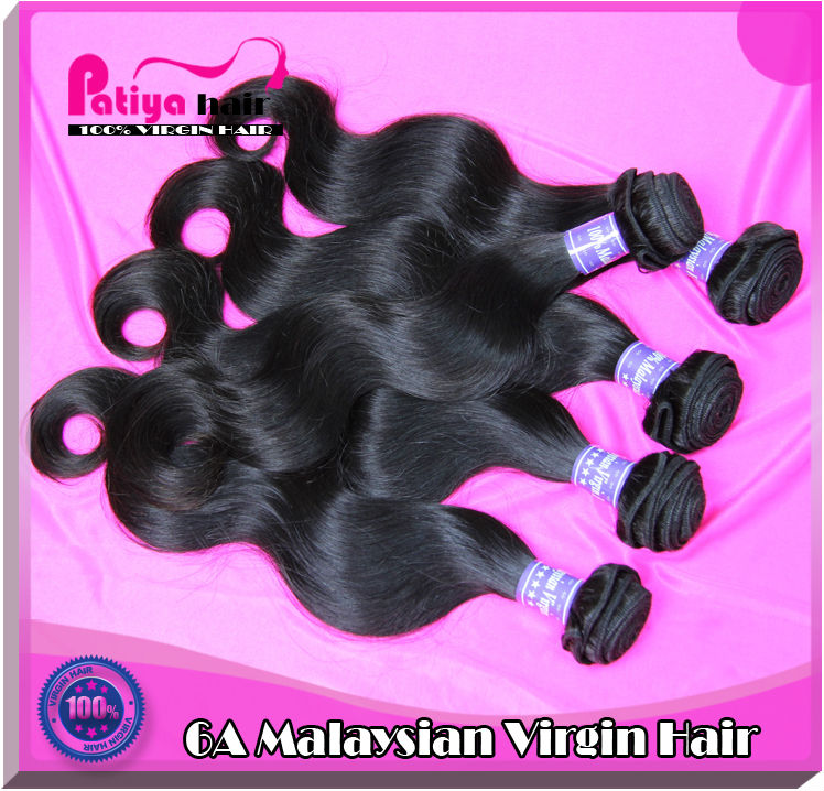 2014 new arrival most popular human virgin Malaysian hair extension for black women