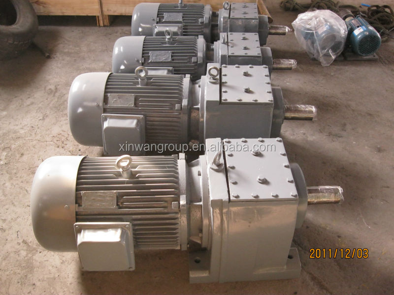 R Series Inline Helical Used Gearbox For Sale 12v Dc