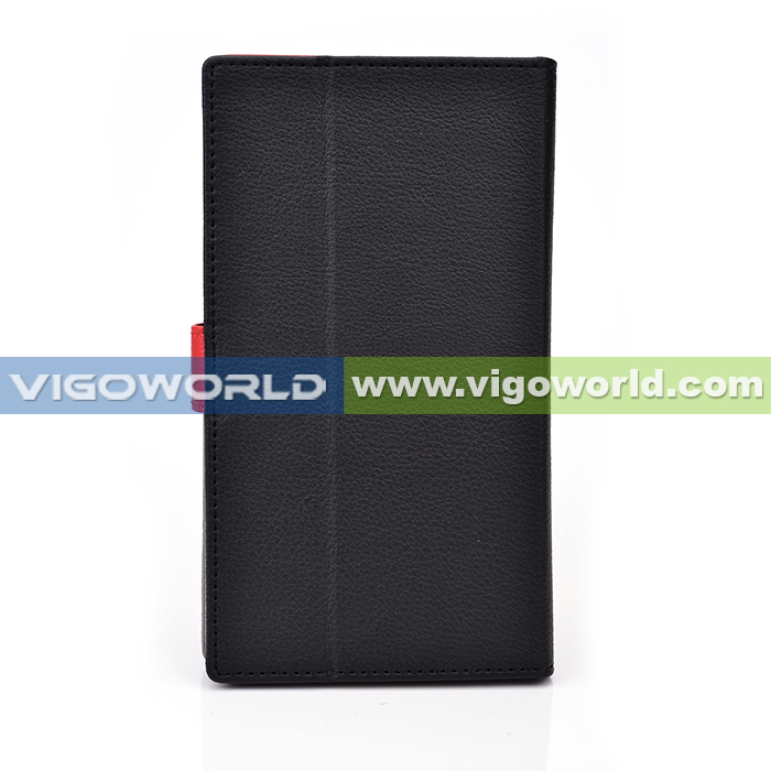 Vigoworld patented Matrix collection full protection leather cover for iPhone 5S flap wallet case