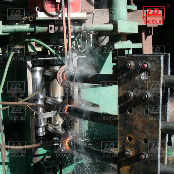 induction heating pipe bender