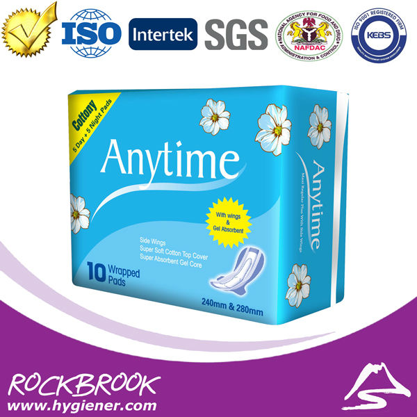 SN622 Soft Feeling New Gorgeous Touch Feeling Best Discount Printed Sanitary Napkin Manufacturer in China