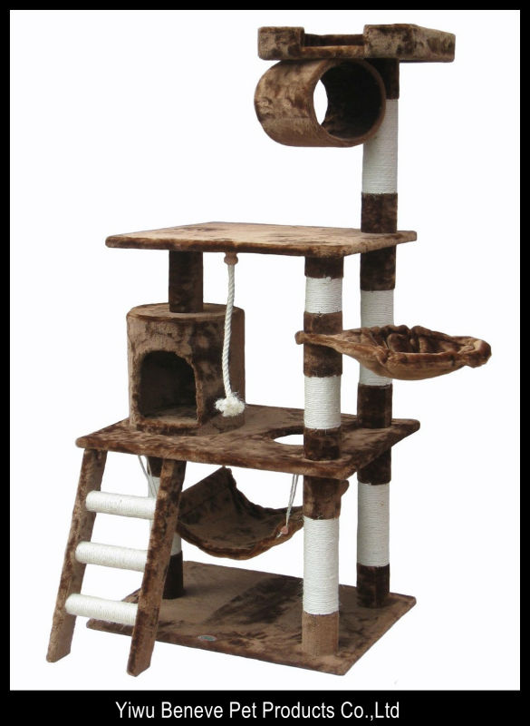 mix color pet products cat tree cat gym house