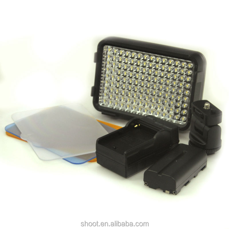 XT-126 studio light with battery and charger for DV Camcorder Lighting lamp