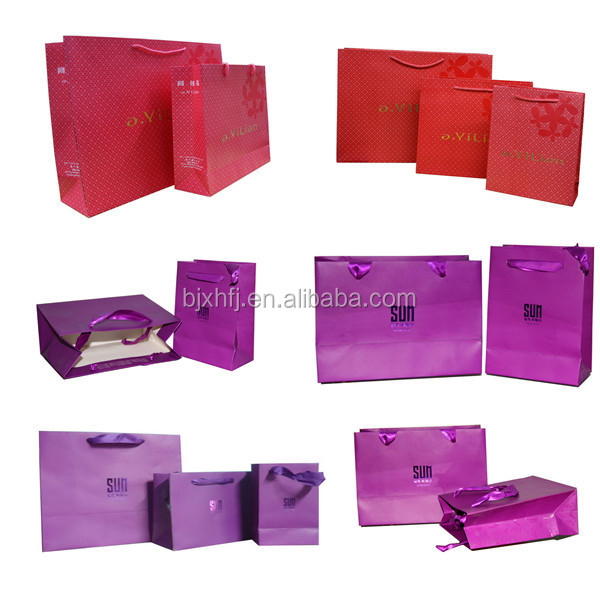 shopping paper carry bag making machine for promotion