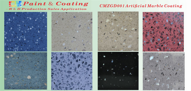 CMZGD001- Floor Paint- Seamless Marble Coating