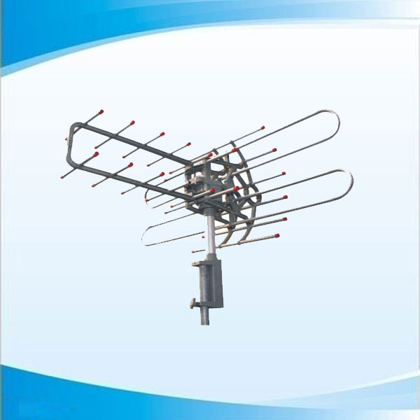 Remote Controlled Rotatable Outdoor Antenna for TV