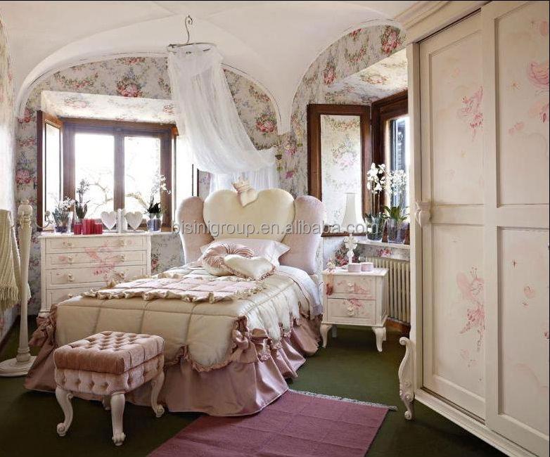 Ebay Hot Sale Princess Kids Bedroom Furniture Bf07 70183